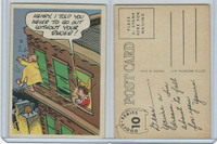 1957 Topps, Goofy Post Cards, #10 Henry, I Told You Never To Go Out