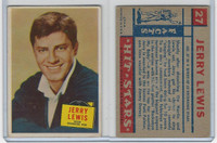 1957 Topps, Hit Stars, #27 Jerry Lewis