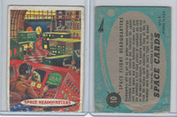 1957 Topps, Space Cards, #10 Space Flight Headquarters