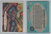 1957 Topps, Space Cards, #16 Strapped Down for Takeoff