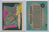 1957 Topps, Space Cards, #19 Diagram of Space Ship