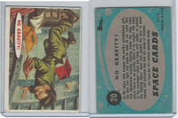 1957 Topps, Space Cards, #20 No Gravity!