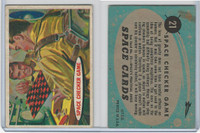 1957 Topps, Space Cards, #21 Space Checker Game