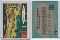 1957 Topps, Space Cards, #64 Lunar Spaceport