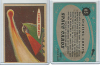 1957 Topps, Space Cards, #65 Chasing Comets