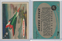 1957 Topps, Space Cards, #67 Return to Earth