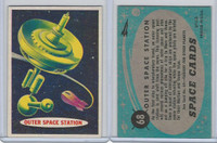 1957 Topps, Space Cards, #68 Outer Space Station