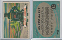 1957 Topps, Space Cards, #73 Martian Landscape