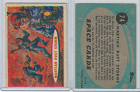 1957 Topps, Space Cards, #74 Martian Dust Storm