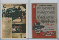 1958 Topps, Zorro, #18 Surprise Meeting