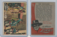 1958 Topps, Zorro, #26 The Hostages