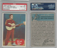 1959 A & BC, Elvis Presley, #5 Soft And Mellow, PSA 8 NMMT