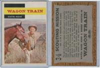 1959 A&BC, TV Westerns, #34 Wagon Train, Scouting Mission