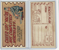 1959 Topps, Wacky Plaks, #34 Cheer Up! You're Not Completely Worthless