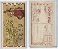 1959 Topps, Wacky Plaks, #72 Remember The Old Chinese Saying