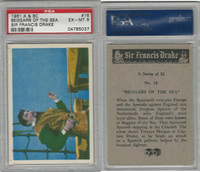 1961 A&BC, Sir Francis Drake, #16 Beggars of the Sea, PSA 6 EXMT