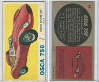 1961 Topps, Sports Cars, #19 Osca 750, Italy