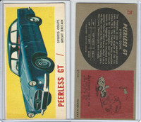 1961 Topps, Sports Cars, #21 Peerless GT, Great Britain
