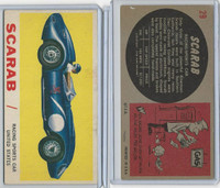 1961 Topps, Sports Cars, #29 Scarab, United States
