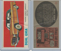 1961 Topps, Sports Cars, #42 Dual Ghia, United States-Italy