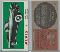 1961 Topps, Sports Cars, #51 Alvis, Great Britain