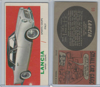 """1961 Topps, Sports Cars, #59 Lancia """"Appia"""" Coupe, Italy"""