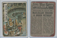 1962 Topps, Civil War News, #23 Crushed by the Wheels, Mechanicsville