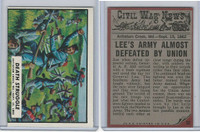 1962 Topps, Civil War News, #32 Death Struggle, Antietam, MD