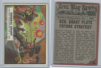 1962 Topps, Civil War News, #38 General Grant