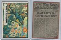 1962 Topps, Civil War News, #57 Hand Combat, Missionary Ridge, Tenn