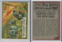 1962 Topps, Civil War News, #61 The Flaming Forest, Wilderness, VA
