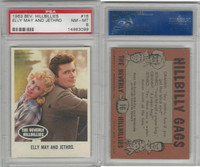 1963 Topps, Beverly Hillbillies, #16 Elly May and Jethro, PSA 8 NMMT