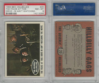 1963 Topps, Beverly Hillbillies, #20 The Folks at This Drive-in, PSA 8 NMMT