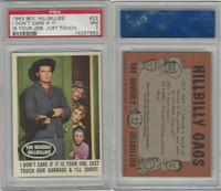 1963 Topps, Beverly Hillbillies, #22 I Don't Care If It Is Your Job, PSA 7 NM