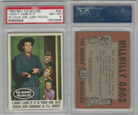 1963 Topps, Beverly Hillbillies, #22 I Don't Care If It Is Your Job, PSA 8 NMMT