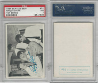 1964 Topps, Beatles B&W 1st Series, #51 Ringo Starr, PSA 7 NM