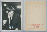 1964 Topps, Beatles B&W 2nd Series, #114 Ringo Starr