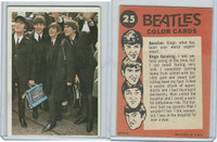 1964 Topps, Beatles Color, #25 John, Paul, Ringo and George, Ringo Speaking