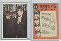 1964 Topps, Beatles Color, #58 Ringo and Paul, George Speaking