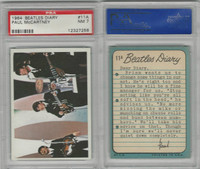 1964 Topps, Beatles Diary, #11A Paul McCartney, PSA 7 NM