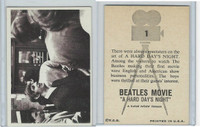 1964 Topps, Beatles Movie, #1 There Were Always Spectators on the Set