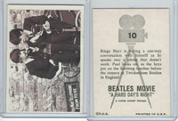 1964 Topps, Beatles Movie, #10 Ringo Starr Is Having A One-Way
