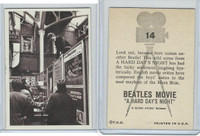 1964 Topps, Beatles Movie, #14 Look Out, Because Here Comes Another