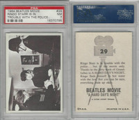1964 Topps, Beatles Movie, #29 Ringo Starr Is in Trouble With, PSA 7 NM
