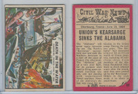 1965 A&BC, Civil War News, #69 Death in the Water