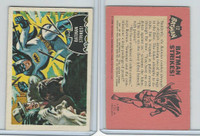 1966 A&BC, Batman Black Bat, #12 Batman Strikes!