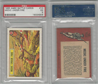 1966 A&BC, Battle, #10 Medic Under Fire, PSA 5 EX