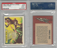 1966 A&BC, Battle, #18 Jungle Duel, PSA 9 OC Mint