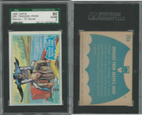 1966 Topps, Batman B Series, #25B Dragged From Death's Door, SGC 80 EXNM