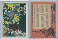 1966 Topps, Batman Black Bat, #12 Batman Strikes!